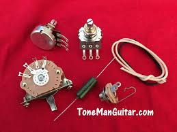 guitar tone improvement vintage 50s tone tone man guitar fender telecaster upgrade guitar wiring kit pio k42y vintage russian tone cap pots 3 way switch vintage cloth wiring