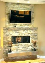 faux stacked stone fireplace fake stone fireplace stacked with floating hearth pictures mantel fake stone fireplace