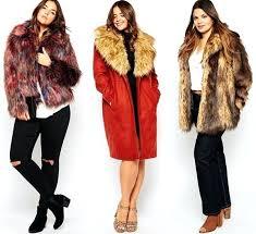 faux fur plus size coats winter women plus size faux fur coat fashion long vest jackets