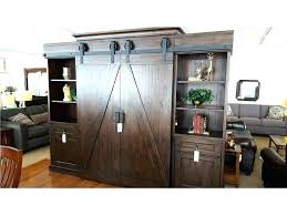 sliding barn door entertainment center with doors interior e fireplace sliding barn door entertainment