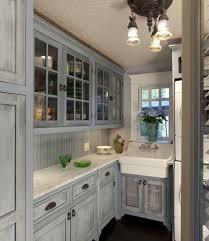 Milk Paint Kitchen Cabinets Distressed Milk Paint Kitchen Cabinets Kitchen Contemporary With