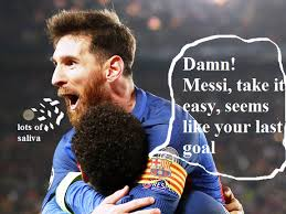 Messi Quotes Adorable Lionel Messi Celebrates Barcelona Comeback The Life Tread
