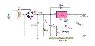 lm adjustable power supply a adjustable power supply 1 2 30v 5a using lm338