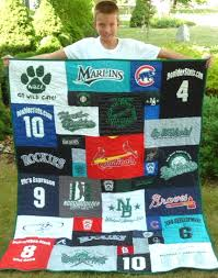 Baseball and Softball T-shirt Quilts & Baseball in a T-shirt quilt Adamdwight.com