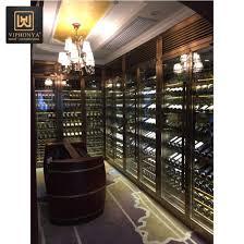 china customized luxury wine storage
