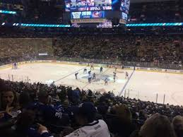 Scotiabank Arena Section 118 Row 28 Home Of Toronto Maple