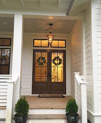 farmhouse style front doors1025 best Front doors and awnings hello images on Pinterest