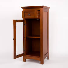 Floor Storage Cabinets Glitzhome Wooden Floor 1 Drawer Storage Cabinet Reviews Wayfair