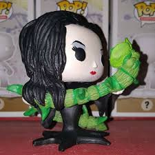 morticia addams custom pop figure