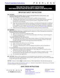 Peerless Lighting 7crm3l Product Installation Instructions Important Manualzz Com