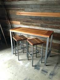 wood pub sets round wood pub tables good wooden bistro table sets lovely reclaimed and also wood pub sets