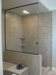 glass frameless glass panels shower