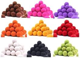 felt ball rug diy free new fashion craft mix color handmade wool felt whole