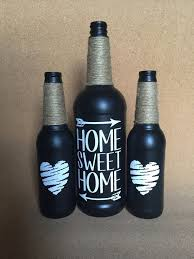 How To Decorate Beer Bottles Wine Bottle Crafts Diy Painted Paint Beer Bottles Home Sweet And 21