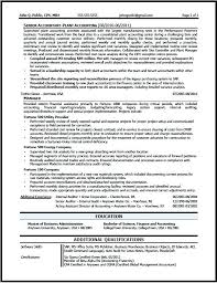 Accountant Resume Sample Custom Cpa Resume Sample Corporate Accountant B Free Accounting Templates