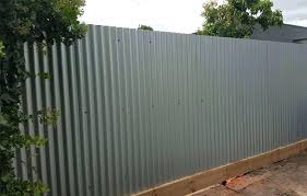 corrugated steel fence and wood corrugated steel fence metal