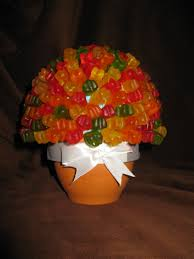 gummy bears candy bouquet gummy bears gummy bear candy cake bouquet gift bouquet