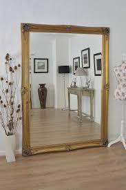 Large Gold Mirror Big Ornate Antique Designed Frame X X