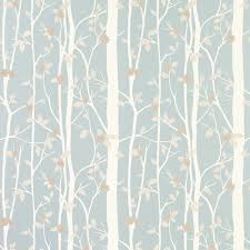 Laura Ashley Wallpaper Bedroom Cottonwood Duck Egg Leaf Wallpaper At Laura Ashley Greenblues