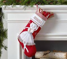 Quilted Stocking Collection | Pottery Barn Kids | Holiday ... & A soft ballerina kitty appliqué with a shining tutu adorns this quilted  Christmas stocking for a classic yet ... Adamdwight.com