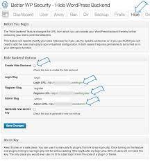 change your wordpress login url managewp