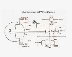 generator wiring diagram and electrical schematics new