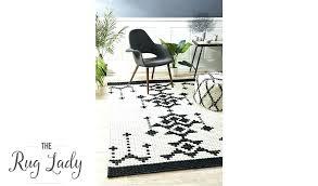 black aztec rug black and white rug print natural felted wool living room rug bold black