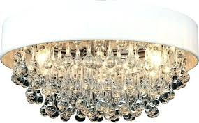 full size of large drum shade chandelier with crystals white 6 light flush mount chrome finish