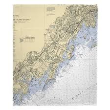 Breakwater Bay Nautical Chart Mamaroneck Rye Port Chester