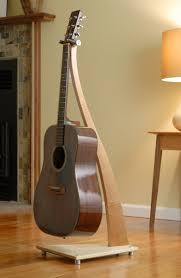 wooden guitar stand plans