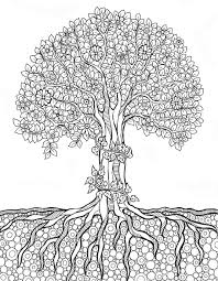 Small Picture 511 best tree art coloring pages images on Pinterest Coloring