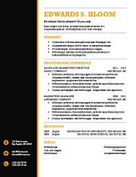 Modern Simple Resume Template Modern Resume Templates 64 Examples Free Download