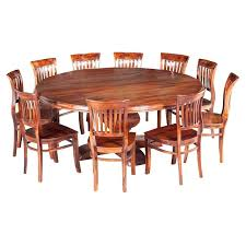 round table and chair set rustic solid wood large round dining table chair set disney table and chair set