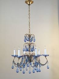 blue chandelier best of pendant lights navy bronze