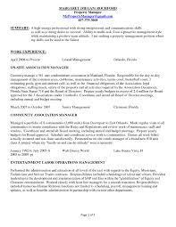 Sample Resume For Building Maintenance Manager Refrence Maintenance