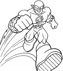 Lego Flash Coloring Pages At Getdrawingscom Free For Personal Use