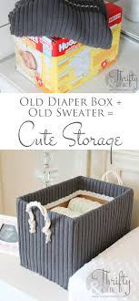 diy decorated storage boxes. The Best DIY Projects \u0026 Ideas And Tutorials: Sewing, Paper Craft, DIY. Diy Crafts Cute Storage Boxes Made From Old Sweaters! Decorated T