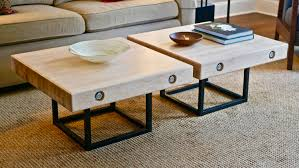 Apr 4 Modern Maple And Steel Coffee Table Part 1 | How To Build