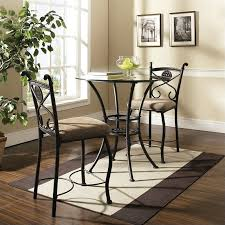 steve silver brookfield counter height dining table in dark metal