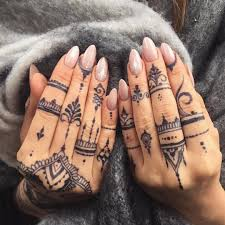Jagua Henna By At Veronicalilu мими Henna Finger Tattoo Finger