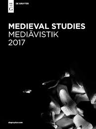 De Gruyter New Publications Catalog Medieval Studies 2017 By De