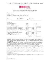 bridalhaircotract wedding hair and makeup contract template lbwtg