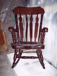 refinish rocking chair.  Rocking A Grandfatheru0027s Rocking Chair  Custom Refinish Before U0026 After And A