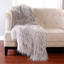 beautiful faux fur rug for flooring decor ideas mongolian lamb faux fur throw best home
