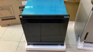 Máy rửa bát âm tủ KAFF KF-BISW800 ( 8 bộ đồ ăn) - YouTube