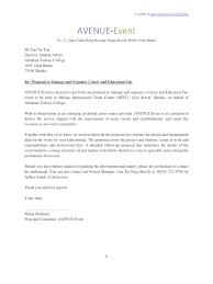 sample of proposal plan event fee logistics xianning it