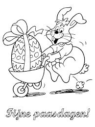 Kleurplaat Fijne Paasdagen Pasen Kleurplatennl
