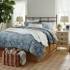 sandrine blue duvet set