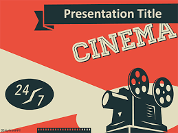Movie Powerpoint Template Free Cinema Powerpoint Templates Myfreeppt Com