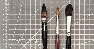 Watercolor Brush Size Chart Free Pdf